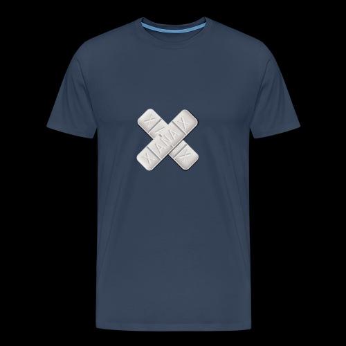 Xanax X Logo - Männer Premium T-Shirt