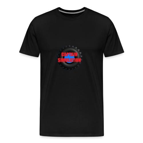 Logo with no blue background - Men's Premium T-Shirt