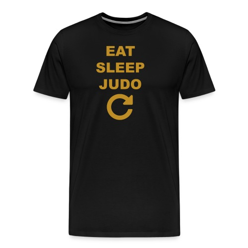 Eat sleep Judo repeat - Koszulka męska Premium