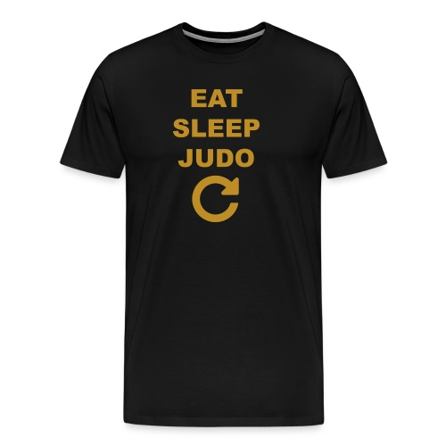 Eat sleep Judo repeat - Koszulka męska Premium