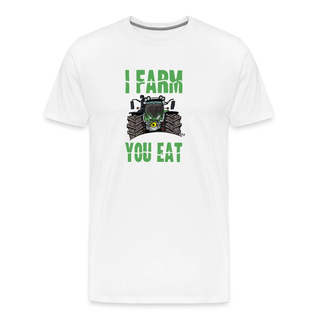 I farm you eat F