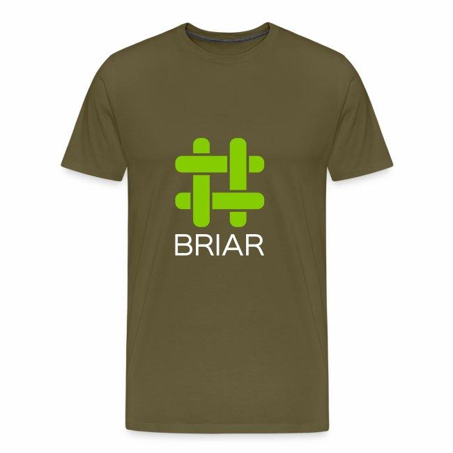 Briar Logo White