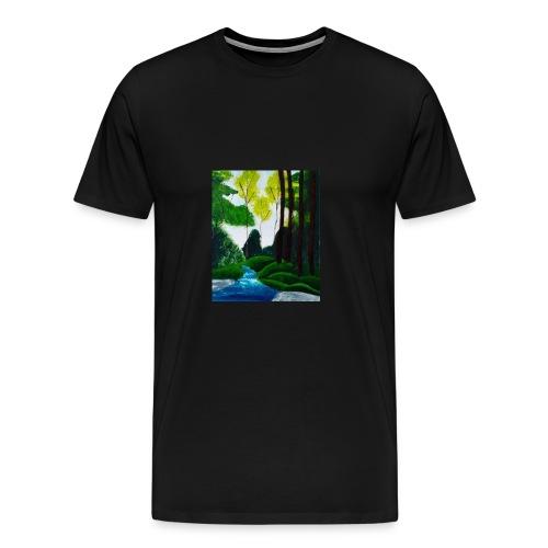 Wilder Bach - Männer Premium T-Shirt