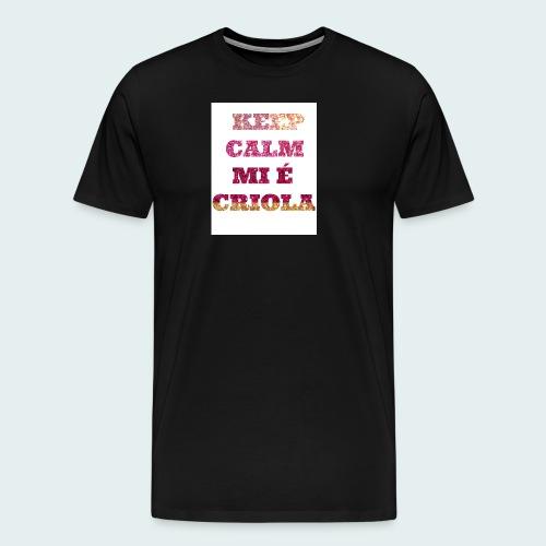 KEEP-CALM-MI-E-KRIOLA - Men's Premium T-Shirt