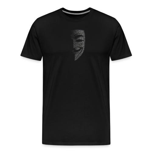 V de vendetta | Mascara Hackers - Camiseta premium hombre