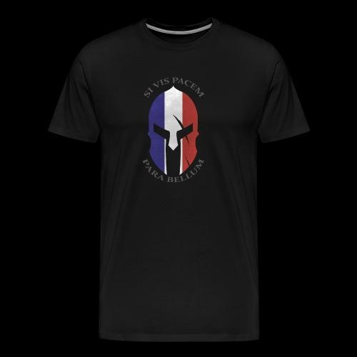 casque spartan si vis pacem02 - T-shirt Premium Homme