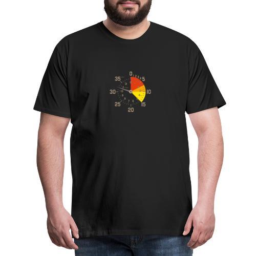 parachutiste altimètre skydive - T-shirt Premium Homme