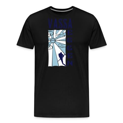 Mot Horisonten 3 Färger - Premium-T-shirt herr