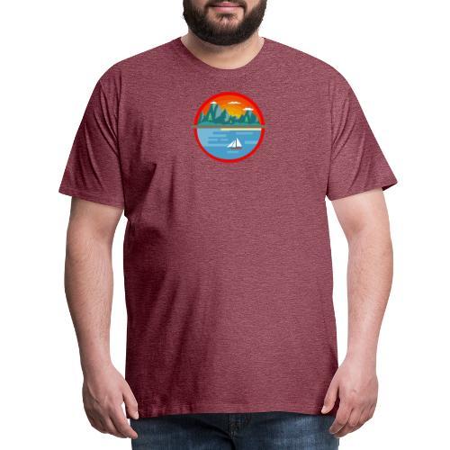 Landscape - T-shirt Premium Homme