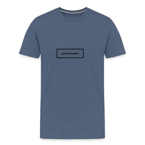 HasloGames White/Black edition! - Mannen Premium T-shirt