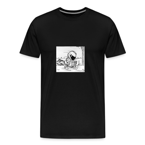 biker - T-shirt Premium Homme