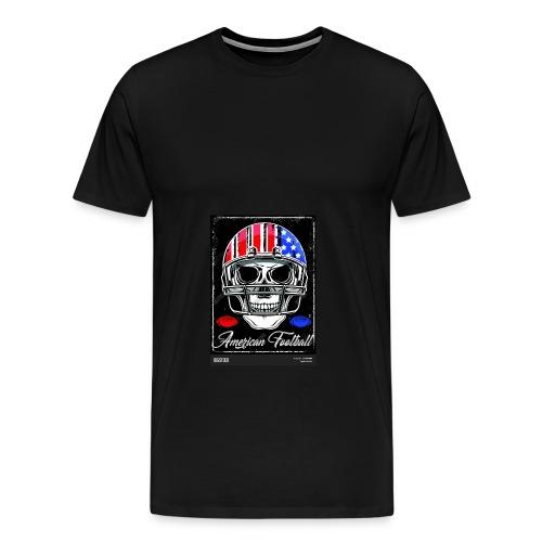 hodeskalle - Premium T-skjorte for menn