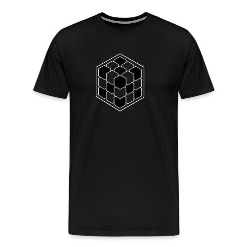 Cubik Bicolor - T-shirt Premium Homme