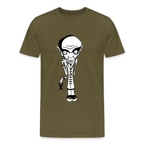 Nosferatu Color Background - Men's Premium T-Shirt