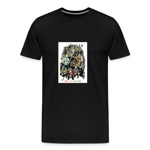 35e67845c9b6034146f6e4cacc68e097 casual co casual - Men's Premium T-Shirt