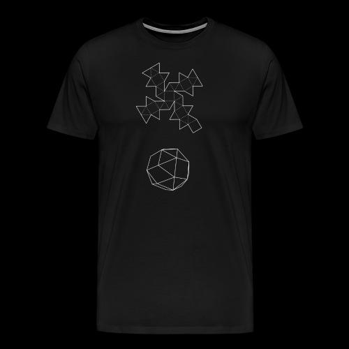 Serie 03   Snub cube - Camiseta premium hombre