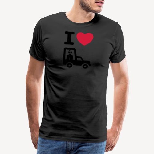 Papst im Auto - Men's Premium T-Shirt