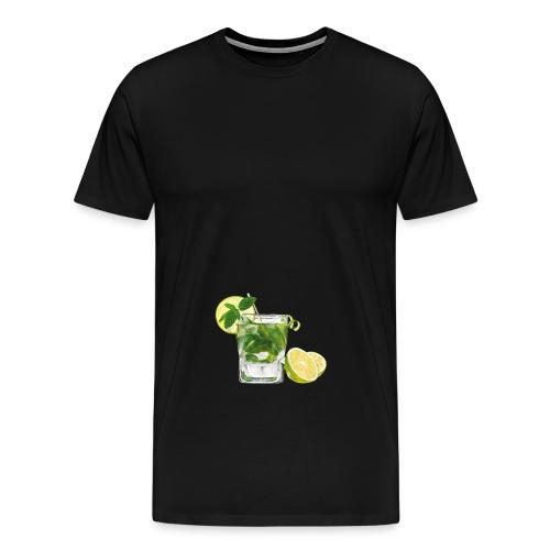 cocktail mojito recette png - T-shirt Premium Homme