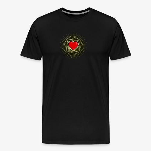 Love Star - T-shirt Premium Homme