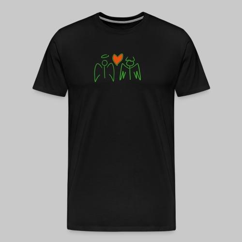 EvilHavenLove - Männer Premium T-Shirt