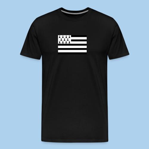 Tapis de souris Drapeau breton - T-shirt Premium Homme