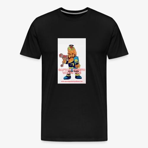 Captain Burrito - Men's Premium T-Shirt