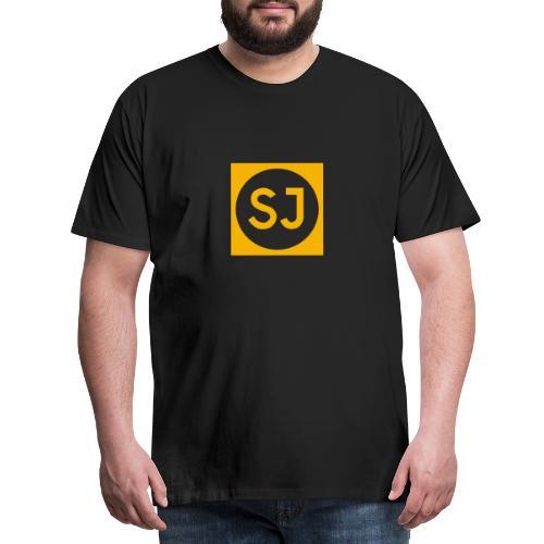 SJ fylld - Premium-T-shirt herr