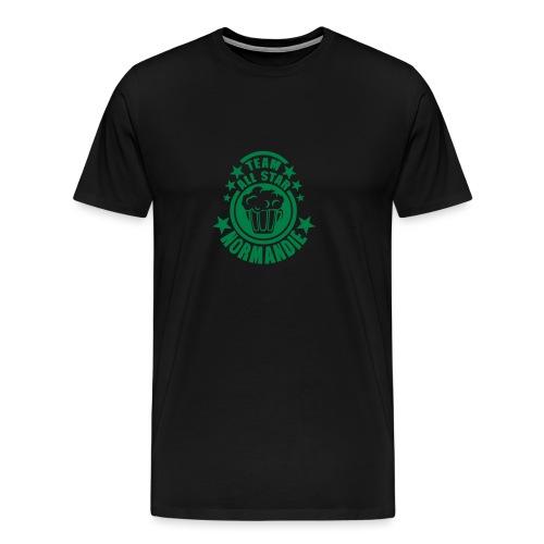 normandie team all star biere alcool 15 - T-shirt Premium Homme