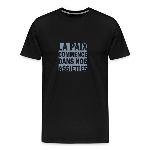 PAIX2 - T-shirt Premium Homme