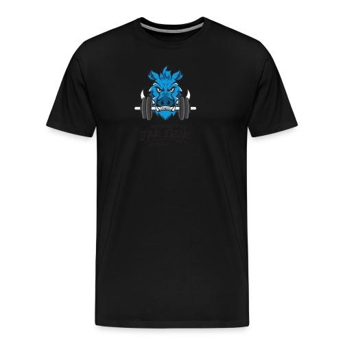 WCHODZĘ W TO JAK DZIK W PAŚNIK - Koszulka męska Premium