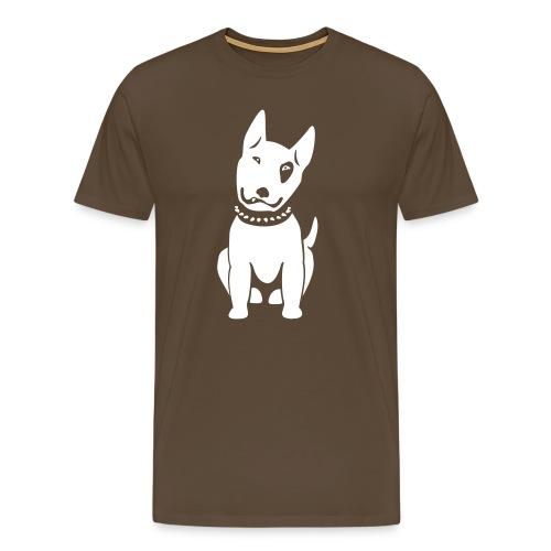 Bullterrier comic - Männer Premium T-Shirt