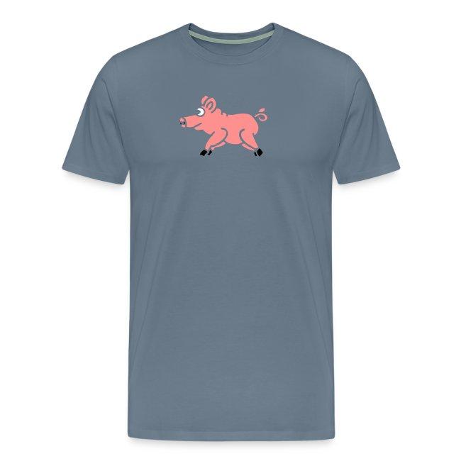 Schwein Pig Prok Good Lucky Charm Viel Glück Steak
