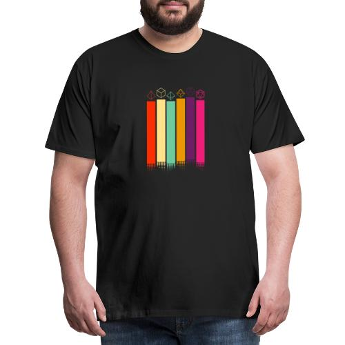 70s Dice - Men's Premium T-Shirt