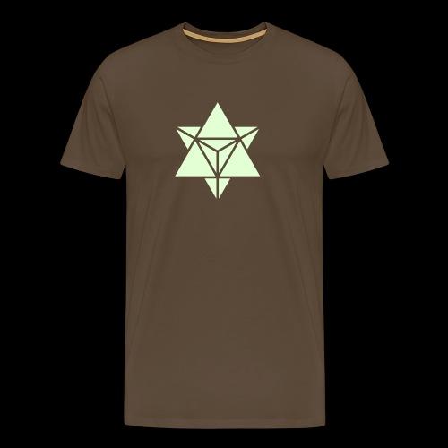 star tetrahedron - Men's Premium T-Shirt