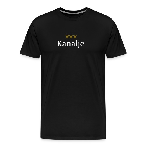 Kanalje (Köln/Kölsch/Karneval) - Männer Premium T-Shirt