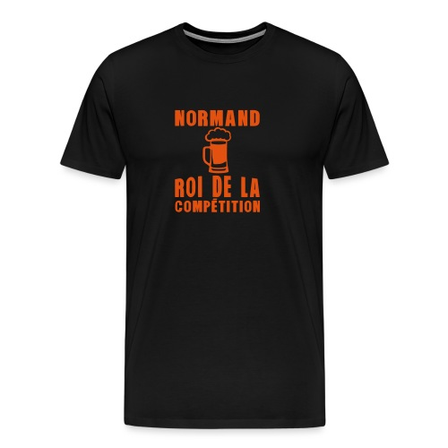 normand roi competition alcool - T-shirt Premium Homme