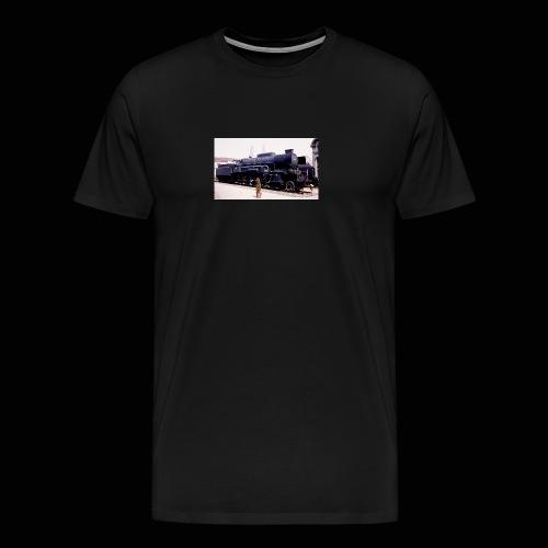 Dampflok BBÖ 33 - Männer Premium T-Shirt