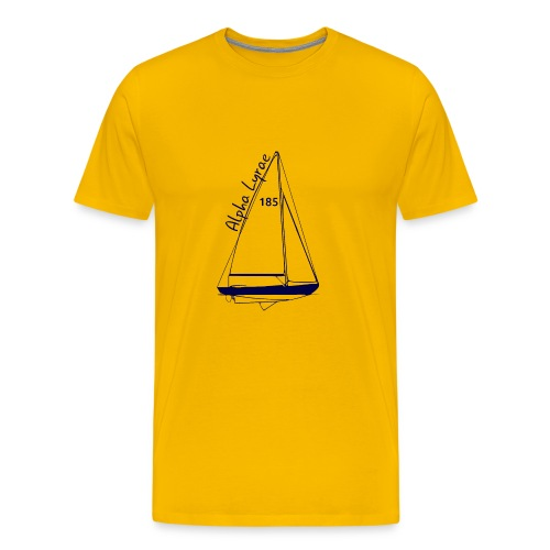 dos - T-shirt Premium Homme