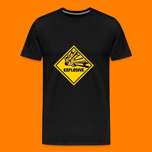 explosive - Men's Premium T-Shirt