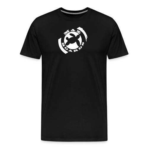 logonoir675x700 bleu 1 - T-shirt Premium Homme