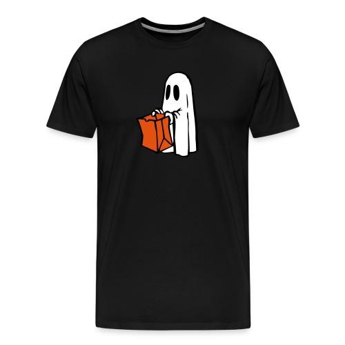 Geist mit Tüte 3farbig - Männer Premium T-Shirt
