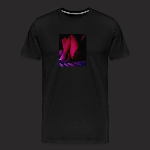 Neon night - Premium-T-shirt herr
