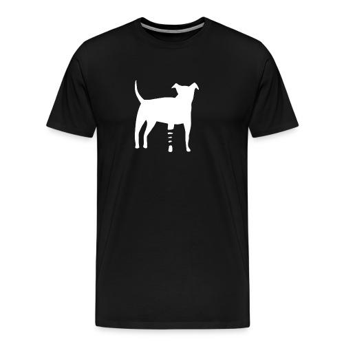 Canidius Dog White - Männer Premium T-Shirt