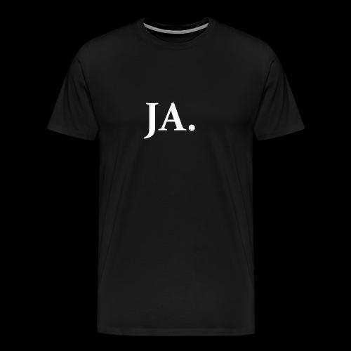 ja. - Premium-T-shirt herr