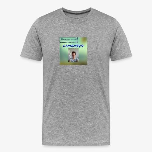 Leman974 logo - T-shirt Premium Homme
