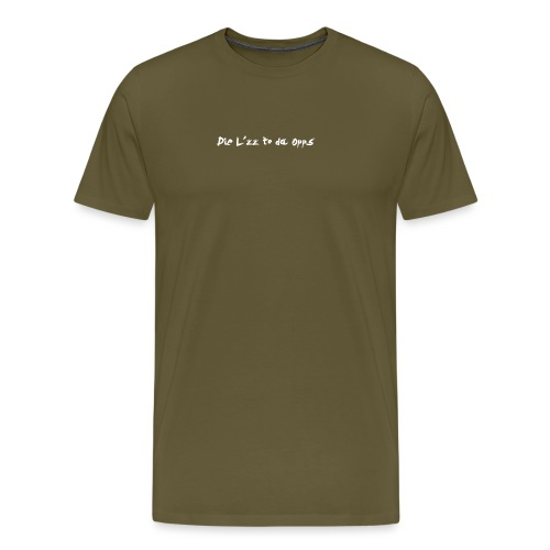 Die Lzz - Herre premium T-shirt