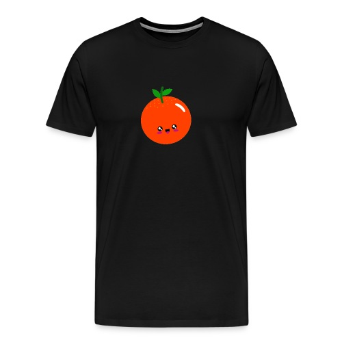 Cute Orange - Männer Premium T-Shirt
