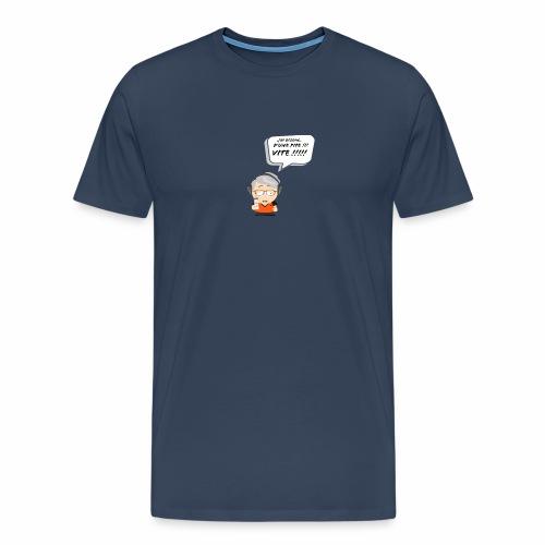 Le Vieux Bourré - T-shirt Premium Homme