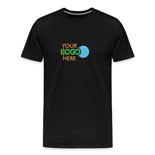 Your Logo Here - Men's Premium T-Shirt