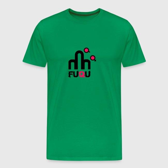 T-shirt FUQU logo colore nero
